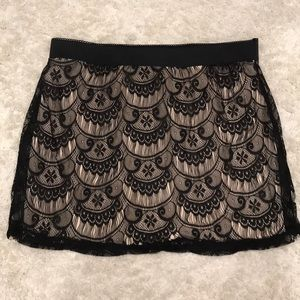 French lace skirt